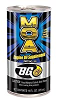 2 - Pack Bg MOA Motor Oil Additive (2) 11oz. Cans by BG PRODUCTS