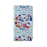 Meaci Apple Iphone 4&4s Folio Case Fashion Pattern with Wallet Kickstand Credit Card Holder Id Holder Pu Leather Material Cover Magnetic Buckle (Great Britain style)