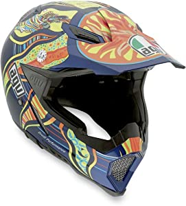 AGV AX-8 Replica VR Five Continents Off-Road Motorcycle Helmet XL AGV SPA - ITALY 7511O0C0001010