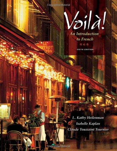 Voila!: An Introduction to French (with Audio CD)