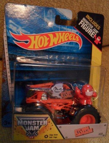 Monster Jam Storm Damage With Monster Jam Figure Hot Wheels Off-road - 1
