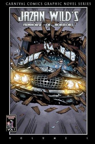 FUNHOUSE OF HORRORS Graphic Novel (Classic Horror Black and White Edition) [Wild, Jazan] (Tapa Blanda)