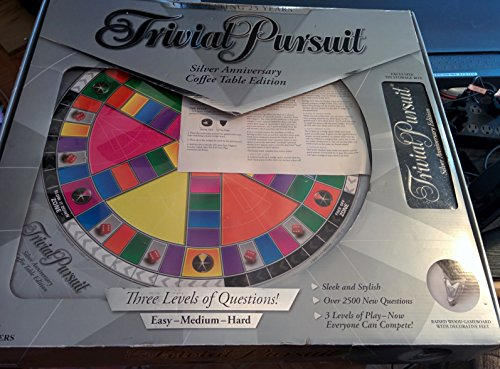 Trivial Pursuit 25Th Silver Anniversary Coffee Table Edition