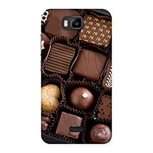 Ajay Enterprises choclets here Back Case Cover for Honor Bee