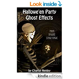 Halloween Party Ghost Effects - from bygone stage magic