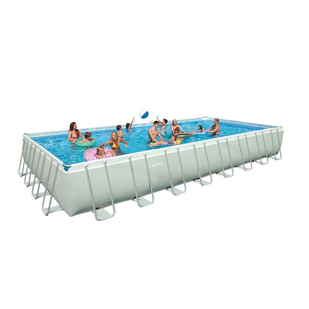 Pool Rechteckig 975x488x132 cm. Intex 28372 günstig online kaufen