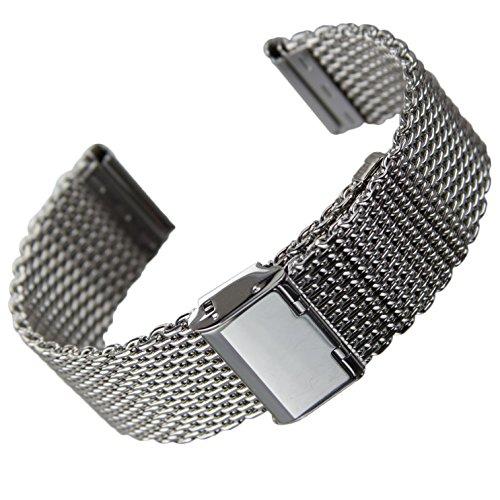 bracelet-de-montre-geckotar-acier-inoxydable-maille-milanaise-poli-argent-22mm