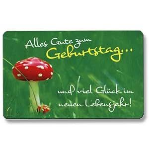 Amazon.de: EC Karte Glückskarte Alles Gute zum Geburtstag