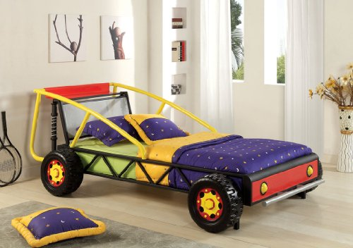 Race Car Twin Bed: Kids Race Car Beds