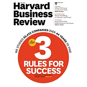 Harvard Business Review, April 2013 | [Harvard Business Review]