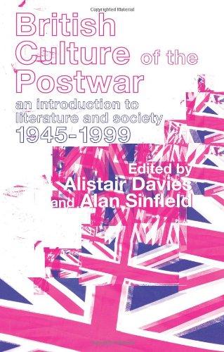 Literature, Politics, and Culture in Postwar Britain (New Historicism)