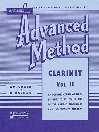 Rubank Advanced Method: Clarinet, Vol. II: 2 (Rubank Educational Library)