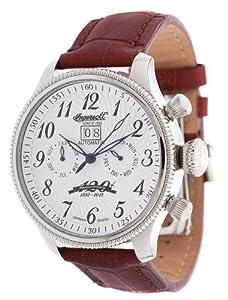 Ingersoll - Reloj de pulsera hombre, color marrón