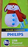 Philips Color Changing USB powered LED SNOWMAN