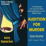 Audition for Murder: Morgan Taylor Mysteries | Susan Sussman,Sarajane Auidon