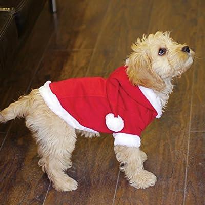 Rosewood Santa Coat for Dogs