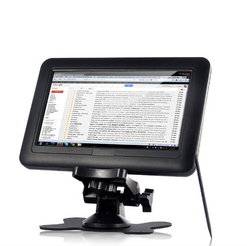 New Portable 7 Inch Tft Lcd 4 Wire Resistive Usb Powered Touchscreen Monitor For Computers