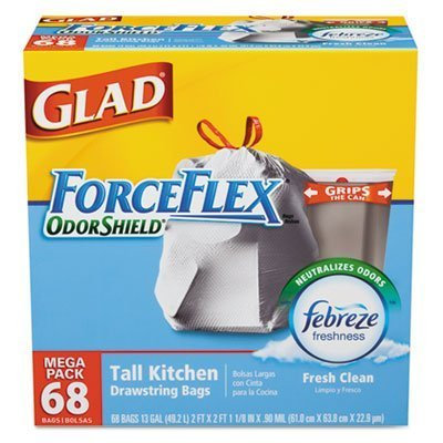 glad-forceflex-odor-shield-tall-kitchen-drawstring-bags-febreze-fresh-clean-scent-mega-pack-68-ct-by