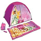 Disney Princess 4 Piece Kids Camp Set, Princess D-4SLGPRN3A