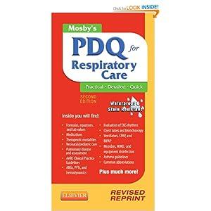 Mosby's PDQ for Respiratory Care Helen Schaar Corning