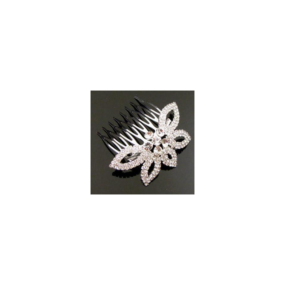 Austrian Rhinestone Hair Comb [Rc27]
