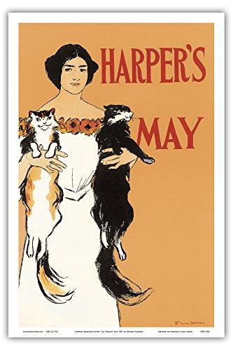 """Harper s Magazine Cover; """"Cat Woman"""", Ma…"""