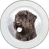 Tax Disc Holder ft The Bouvier des Flandres