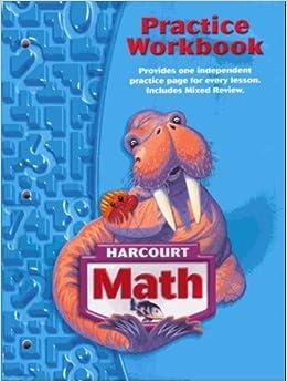harcourt math grade 3 practice workbook pdf