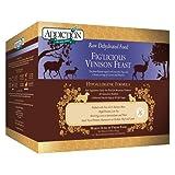 Addiction Raw Dehydrated Grain-Free Dog Food, Fig'licious Venison Feast, 8 Pound Box