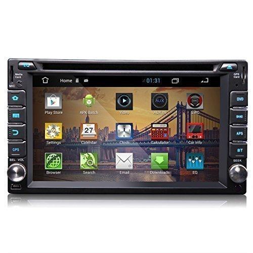 eonon g2111Android 4.2Système d'opération 2DIN lecteur DVD de voiture 15,7cm Système GPS Bluetooth écran tactile Radio stéréo MP3USB SD