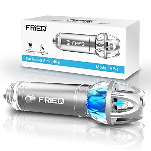 FRiEQ Purificatore Aria Auto - Potente Ionizzatore che Rimuove Efficacemente la Polvere, Polline e Fumo - Disponibile per la tua Auto o Camper