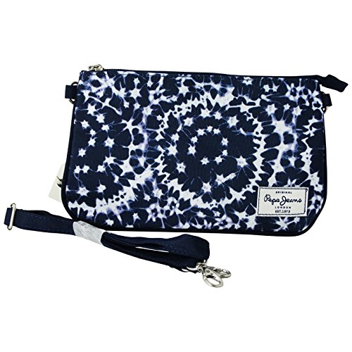 Pepe Jeans Mary Linda Borsa da Donna a Spalla Mano Pochette Beauty Case Porta Trucco Make Up