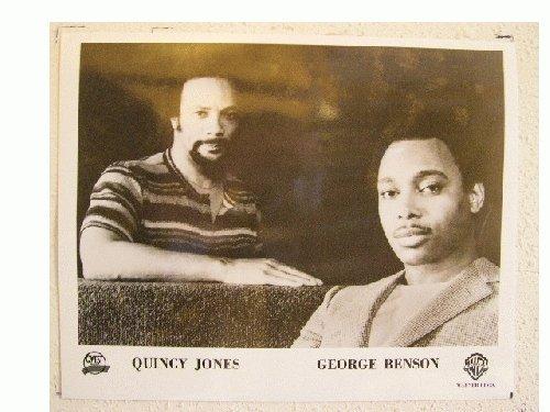 George Benson Quincy Jones Press Kit and Photo Breezin