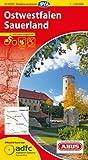ADFC-Radtourenkarte 11 Ostwestfalen Sauerland 1:150.000, reiß- und wetterfest, GPS-Tracks Download und Online-Begleitheft