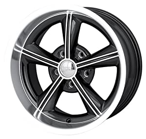 "Ion Alloy 625 Black Wheel with Machined Face and Lip (16x8""/5x120.65mm)"