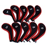 10 Golf Clubs Fer Ensemble � housse d...