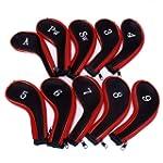 10 Golf Clubs Fer Ensemble � housse d...