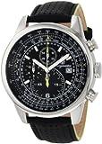Burgmeister Herren Chronograph Melbourne mit Citizen OS10 Werk, BM505-122, schwarz