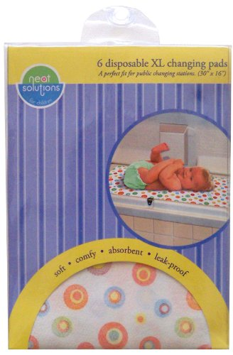 Neat Solutions 6 Count Neat-Ware Changing Pads, X-Large