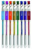 Write Dudes Supergel Metallic Pens, Assorted Colors, 8-Count (41320)