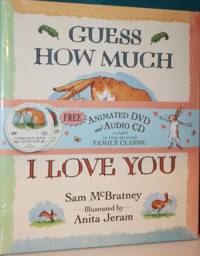 Guess How Much I Love You With Dvd & Cd back-75226
