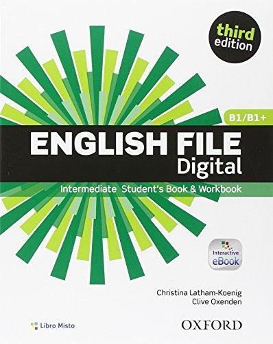 English file digital. Intermediate. Entry book-Student's book-Workbook. With key. Con e-book. Con espansione online. Per le Scuole superiori