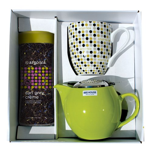 Argo Tea Time Gift Set - Earl Grey Creme