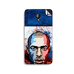 ezyPRNT Micromax Unity 2 A106 Thierry Henry Football Player mobile skin sticker
