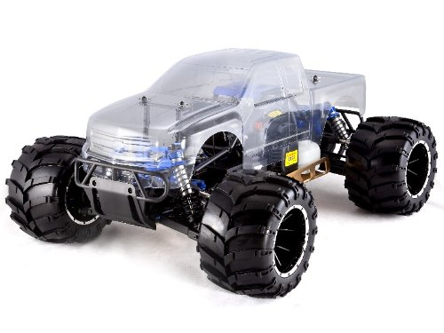 RC Car Rampage MT RC 1/5 Scale Nitro Gas Truck 4WD RTR