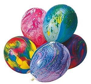 10x Latexballon Marmoriert 30cm Durchmesser