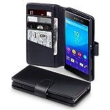 Sony Xperia M5 Cover, Terrapin [ECHT LEDER] Brieftasche