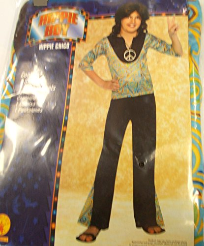 Rubies Hippie Boy Halloween Costume NIP Boys Small 6