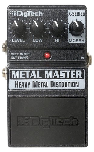 Digitech Xmm Metal Master-Distortion Guitar Pedal