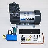 Pacbrake HP10632 - 12V HP625 Air Compressor Kit (Vertical Pump Head)